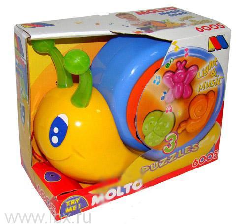 Развивающая игрушка Волшебная улитка, Molto (Молто)