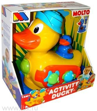 Развивающая игрушка Утенок, Molto (Молто)