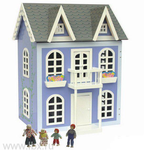 Кукольный домик с мебелью и куклами, Craft (Крафт)
