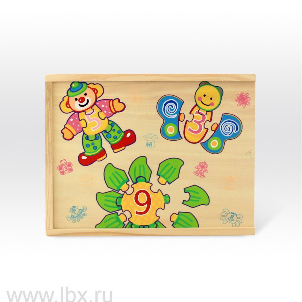 Набор Картинки-цифры Клоун, Топ Брайт