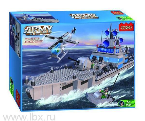Конструктор `Армия. Крейсер`, Cogo