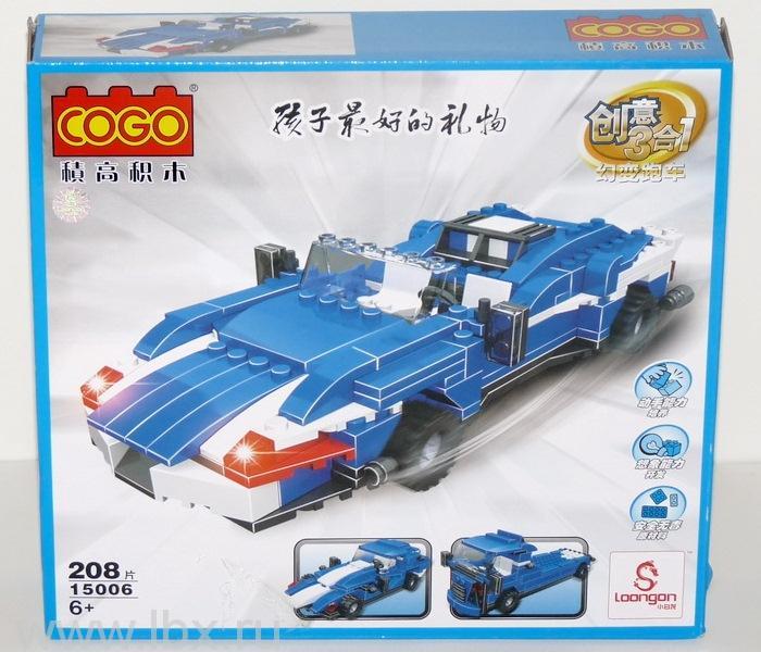 Конструктор `Машина 3в1`, Cogo