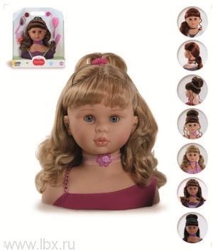 05760 Голова для причесок малая (блондинка)Paola Reina (Паола Рейна)