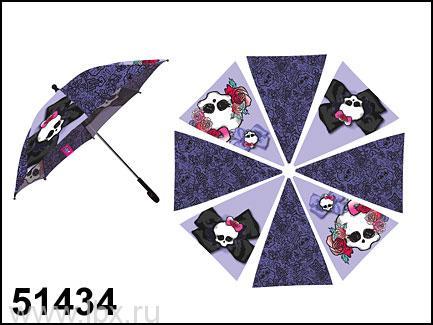 Зонт c розами Monster High Маруся- увеличить фото