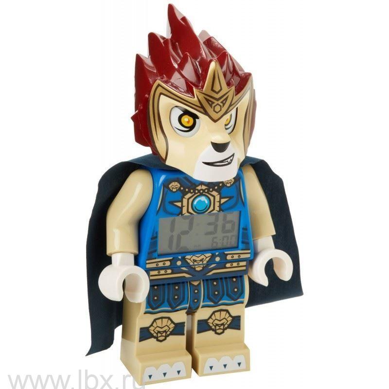 Будильник Legends of Chima, минифигура Laval, Lego (Лего)