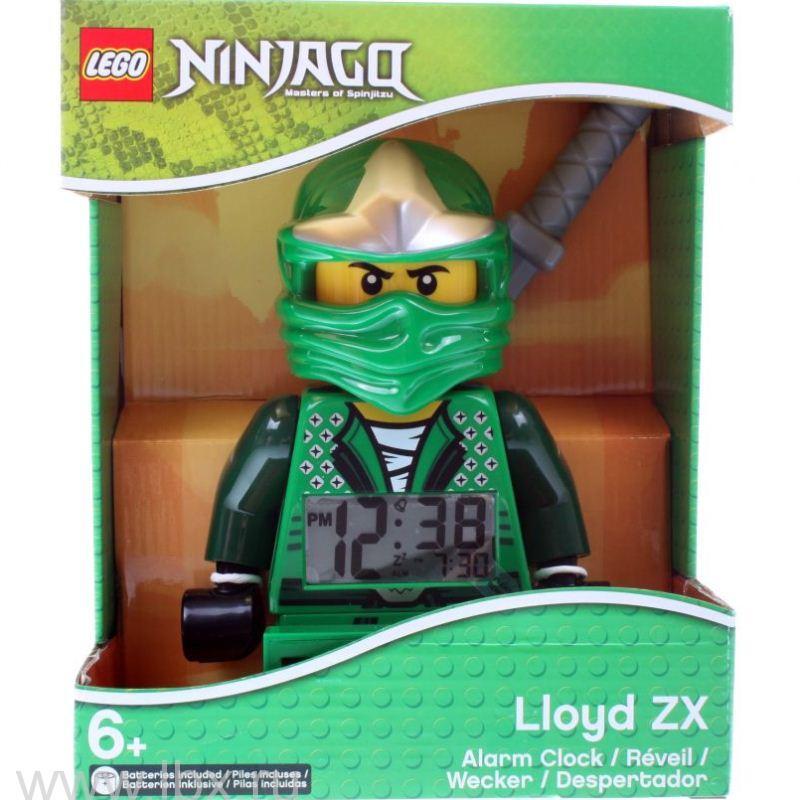 Будильник Ninjago, минифигура Lloyd ZX, Lego (Лего)