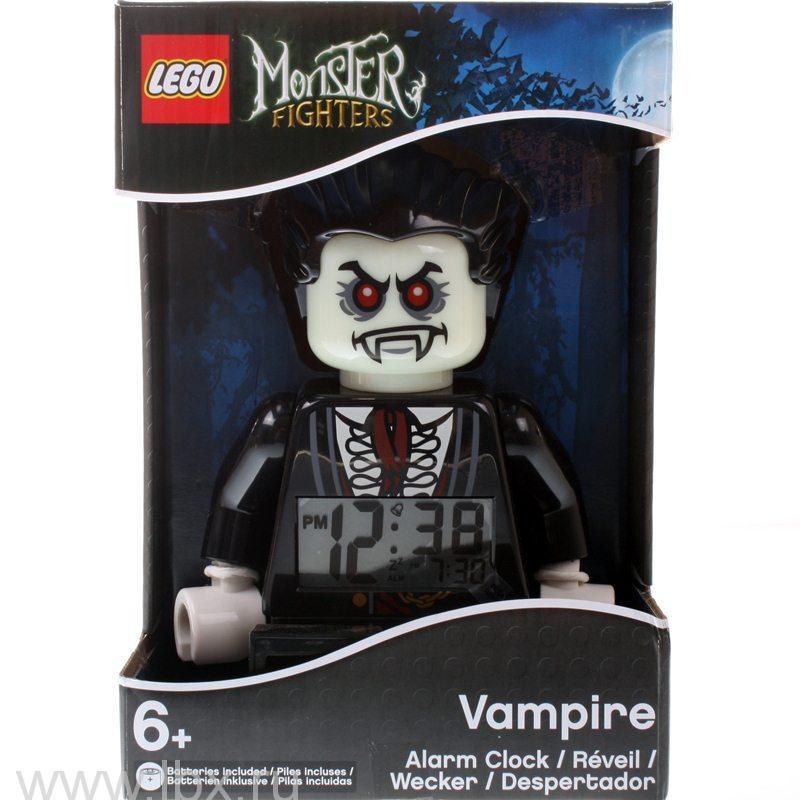 Будильник Monster Fighters, минифигура Vampire (Вампир), Lego (Лего)