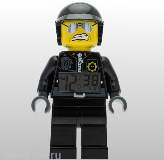 Будильник минифигура Bad Cop, Lego Movie (Лего Фильм)
