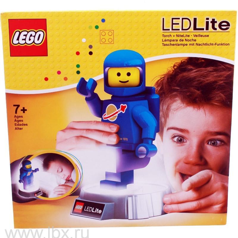 Фонарик-ночник Classic Spaceman, Lego (Лего)