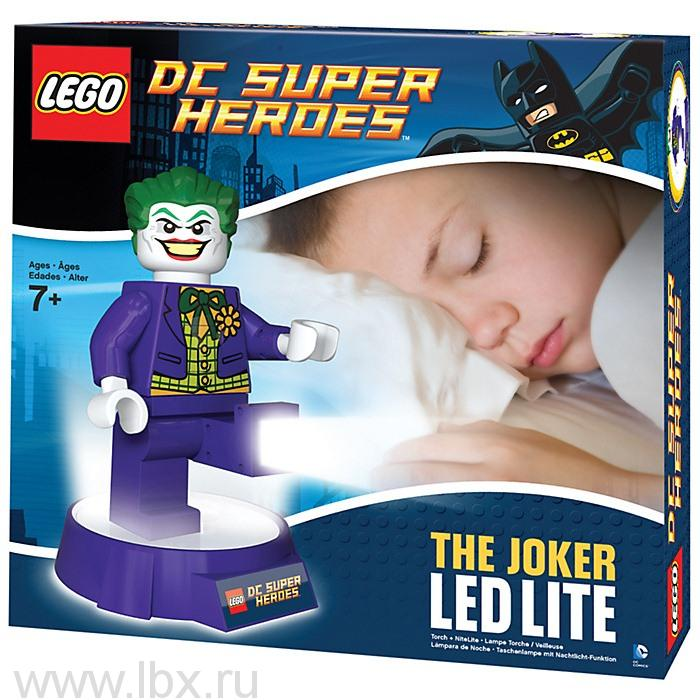 Фонарик-ночник Joker, Lego Super Heroes (Лего Супер герои)