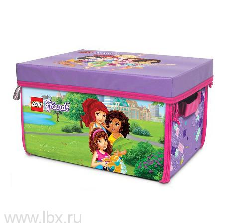 Игровой коврик-коробка Lego Friends (Лего Подружки)