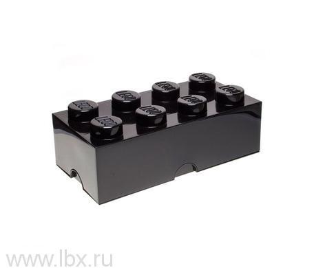 Ящик черный для хранения игрушек Lego (Лего)