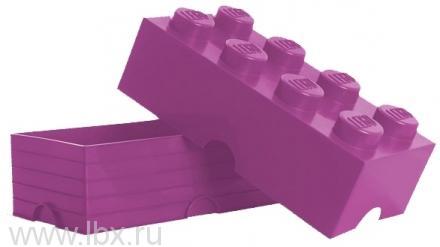 Ящик лиловый для хранения игрушек Lego (Лего) Friends