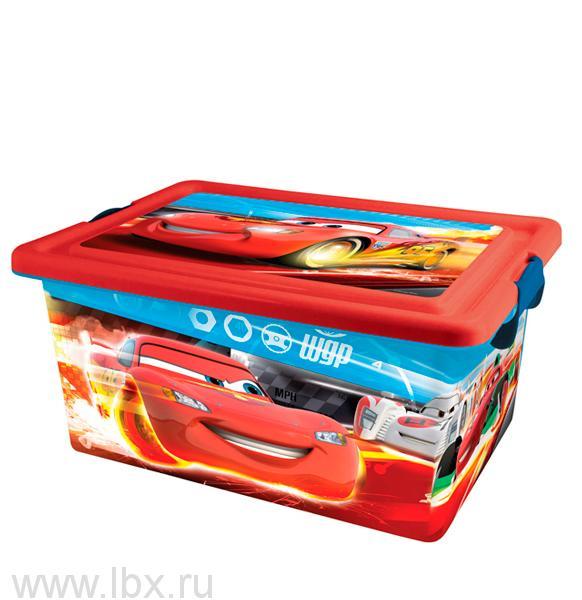 Ящик для хранения Disney Cars(Тачки),13лLego (Лего)- увеличить фото