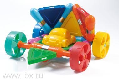 Магнитный конструктор `Kliky Flat Wheels` Plastwood (Пластвуд)