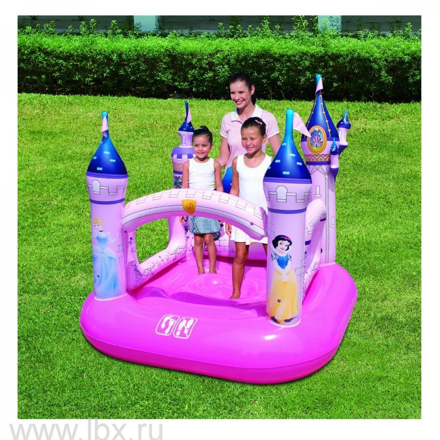 Надувной Дом «Дворец Принцесс» т.м.Disney Princesses Bestway (Бествей)