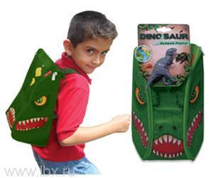 Игровой набор ЗипБин Динозавр: рюкзак-коврик 1 игрушкаNeat - Oh (Нит Ох)