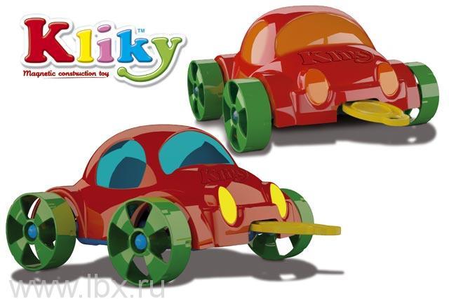 Магнитный конструктор `Kliky Cubiс Go Car` Plastwood (Пластвуд)