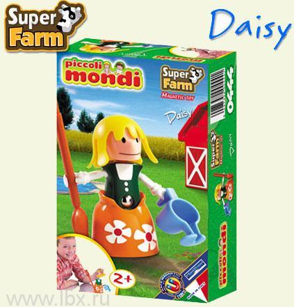 Магнитный конструктор `Piccoli Mondi Super Farm Daisy` Plastwood (Пластвуд)