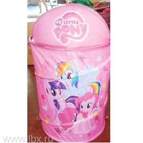 Корзина для игрушек Me little pony (Моя маленькая пони), Играем Вместе- увеличить фото