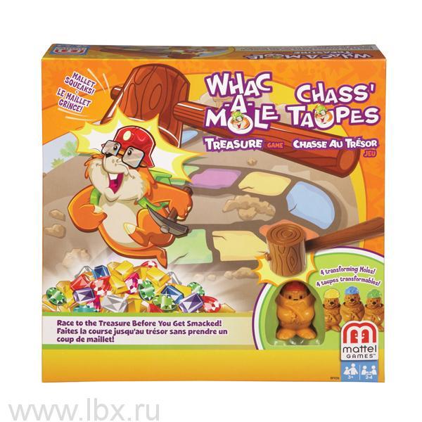 Настольная игра `Гонка за сокровищами`, Mattel (Маттел)