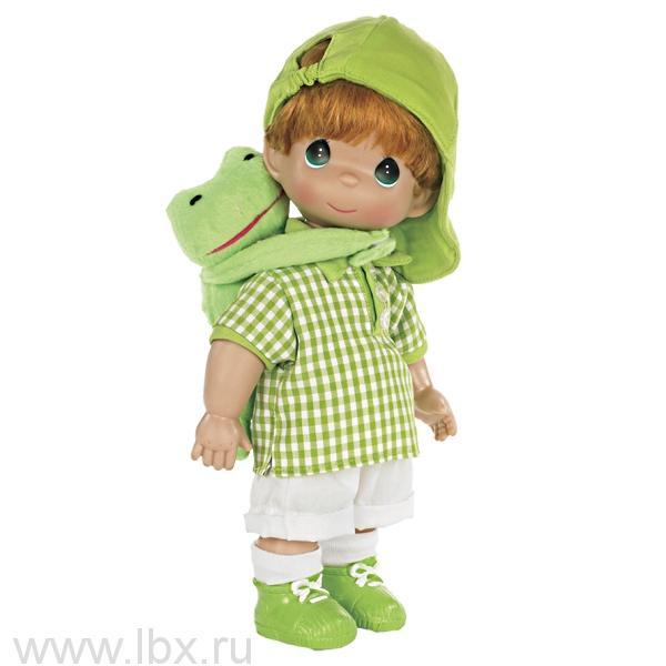 Кукла `Мальчик и лягушонок Элли` 30 см, Precious Moments (Драгоценные Моменты)