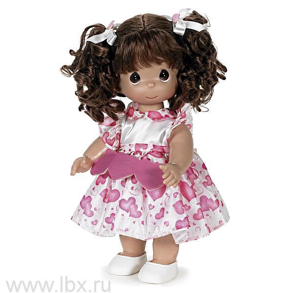 Кукла `Сердце` брюнетка 30см, Precious Moments (Драгоценные Моменты)