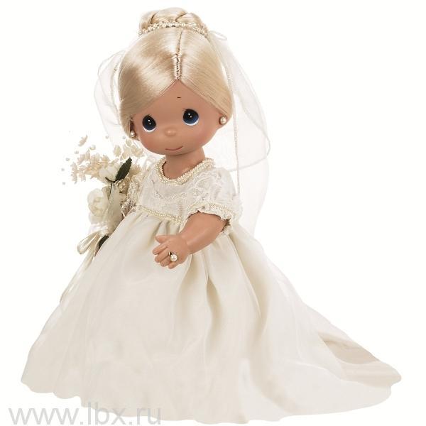 Кукла `Зачарованные сны. Невеста` блондинка 30см, Precious Moments (Драгоценные Моменты)