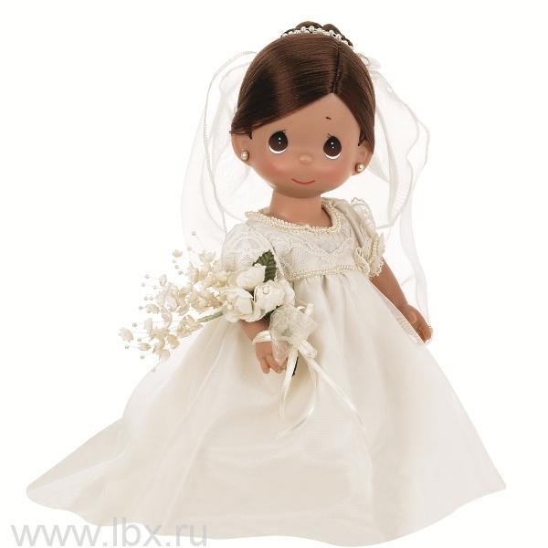 Кукла `Зачарованые сны. Невеста` брюнетка 30см, Precious Moments (Драгоценные Моменты)