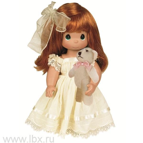 Кукла `Люби меня` рыжая 30см, Precious Moments (Драгоценные Моменты)