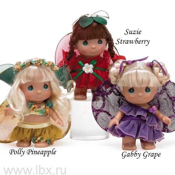 Кукла Волшебная клубника (Suzie Strawberry) 13см, Precious Moments (Драгоценные Моменты)