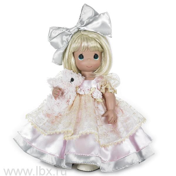 Кукла `В кружевах с питомцем` 40см, Precious Moments (Драгоценные Моменты)