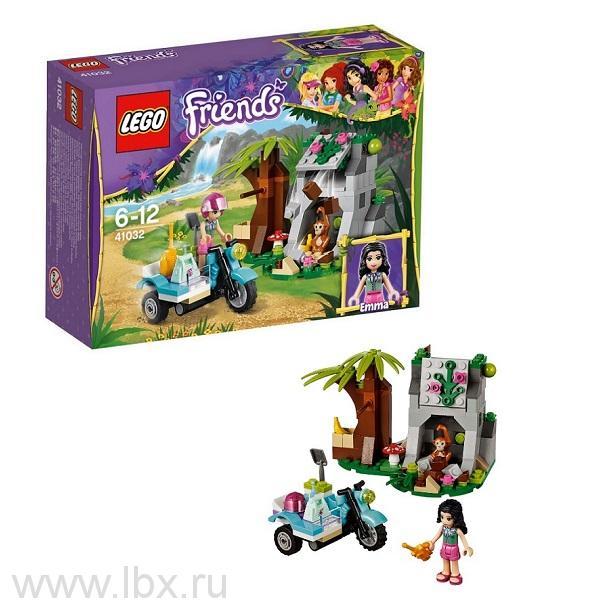 Джунгли: Мотоцикл скорой помощи Lego Friends (Лего Подружки)