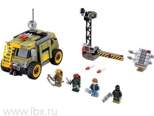 Освобождение фургона черепашек Lego Ninja Turtles (Лего Черепашки-ниндзя)