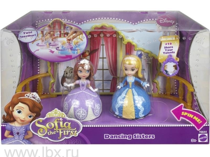 Игровой набор Sofia the first `Танцующие сестры`, Mattel (Маттел)