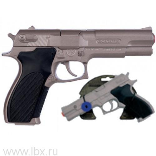 Револьвер полицейский на 8 пистонов звук Gonher (Гонхер)