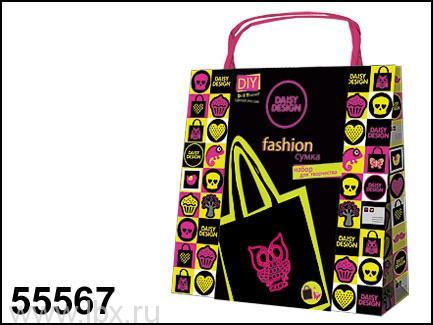Набор для декорирования сумочки Neon `Сова`, Daisy Magazine (Дайси)