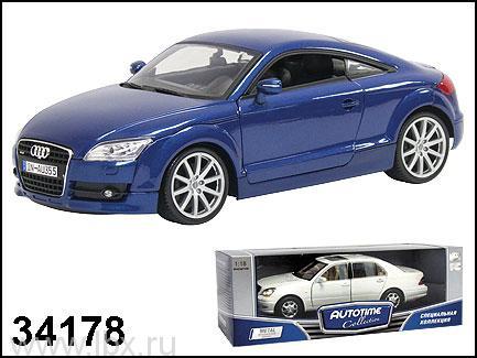 Модель автомобиля `Audi TT Coupe` 1:18, Autotime