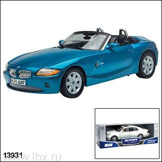 Модель автомобиля `BMW Z4 Roadster 2010` 1:18, Autotime