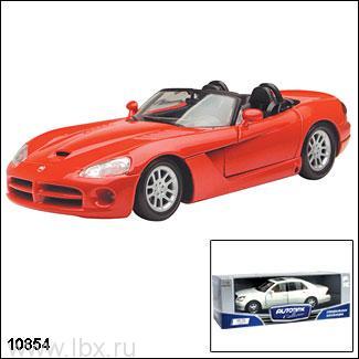 Модель автомобиля `Dodge Viper SRT-10 2002` 1:18, Autotime