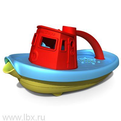 Буксир красный, Green Toys (Грин Тойс)