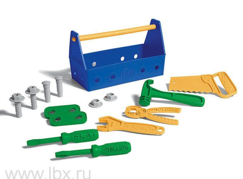 Набор столярных инструментов 15 предметов, Green Toys (Грин Тойс)