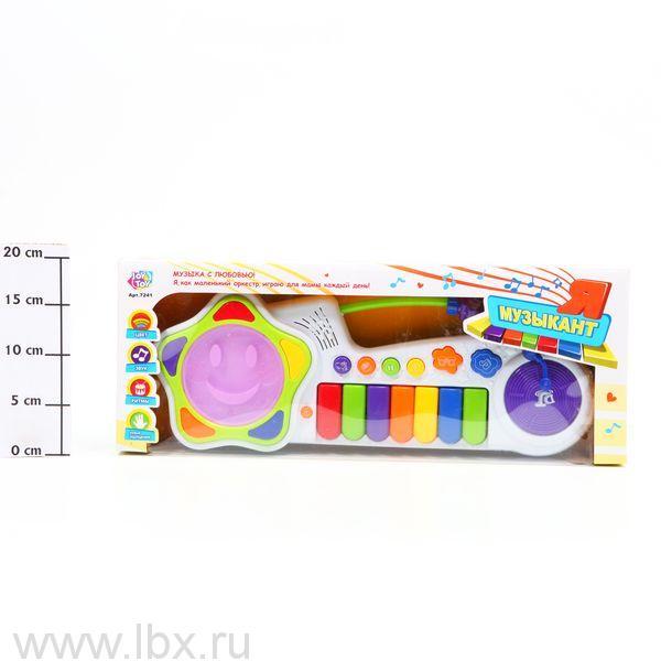 Пианино музыкальное `Я музыкант` Joy Toy (Джой Той)