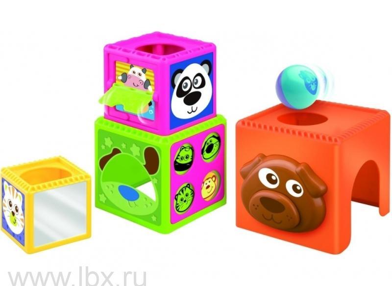 Активные развивающие `Кубики-пирамидка`, B kids (Б кидс)