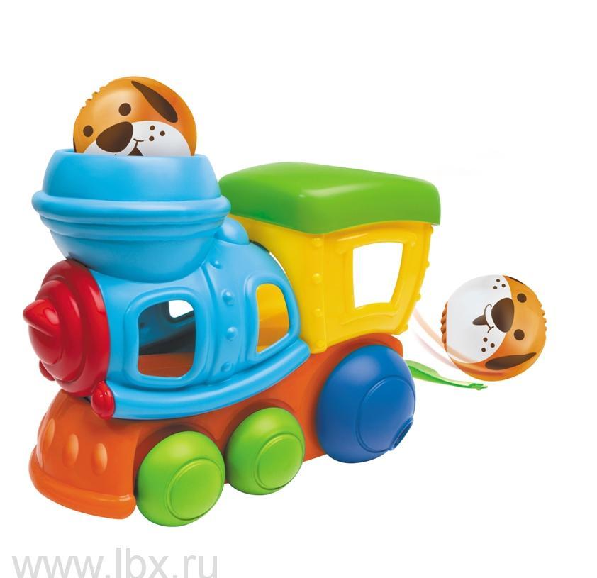 Игрушка `Забавный паровозик`, B kids (Б кидс)