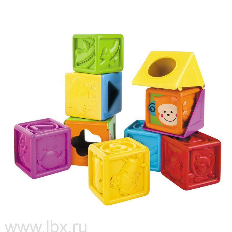 Развивающие блоки `Пикабу` 9 элементов, B kids (Б кидс)