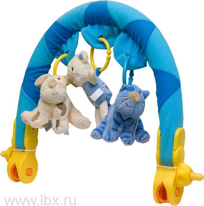 Активная дуга на коляску `Звери`, Biba Toys (Биба Тойс)