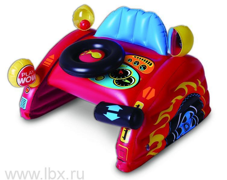 Музыкальная надувная игрушка `Гонщик`, WOW