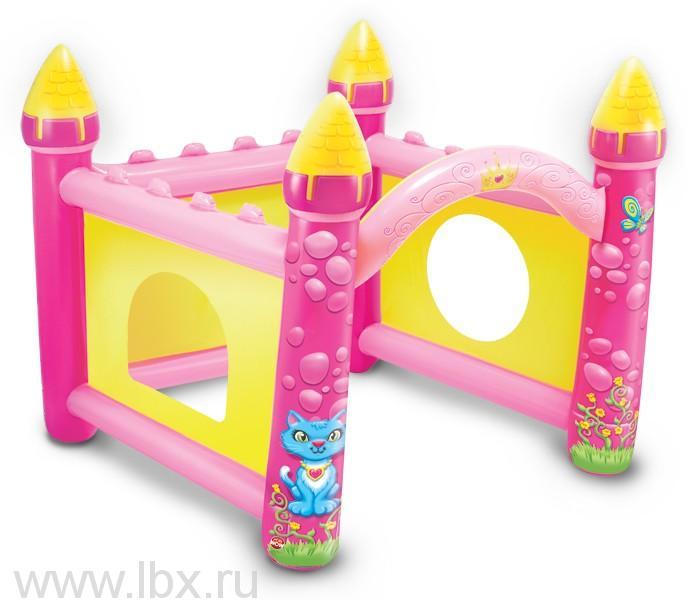 Большой надувной замок принцессы, WOW