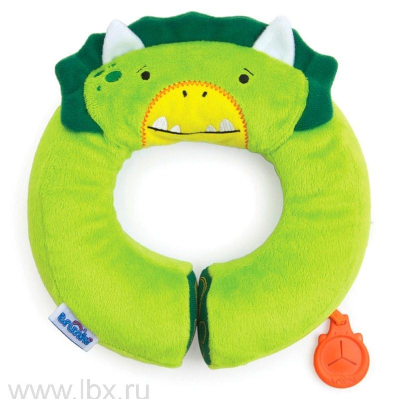 Подголовник Yondi Динозавр зеленый, Trunki (Транки)